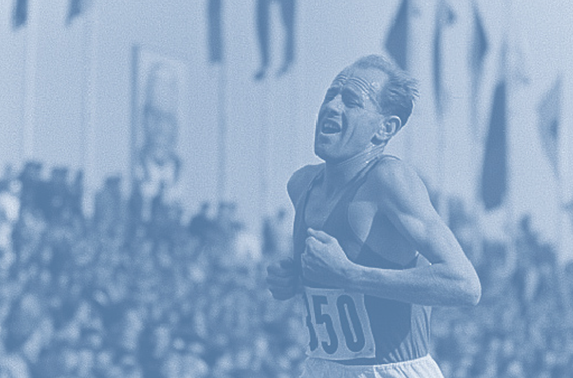 Work and Grit: Emil Zatopek's Triple Crown of Running