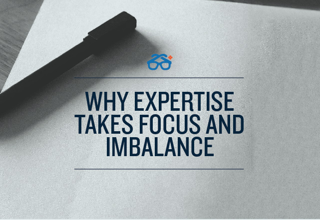 Expertise takes imbalance