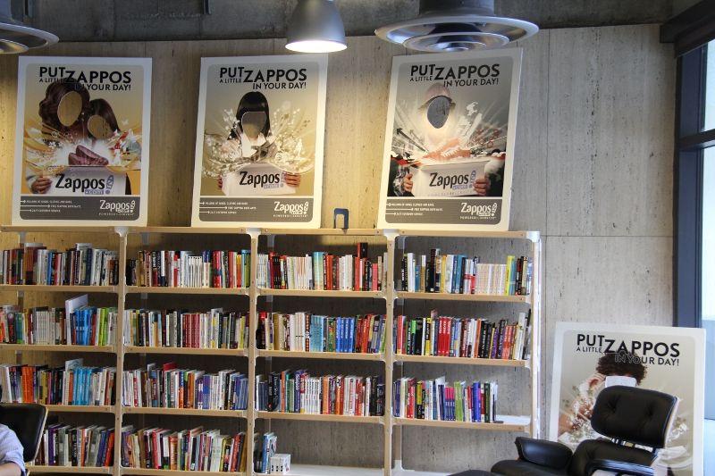 Zappos Lobby Library