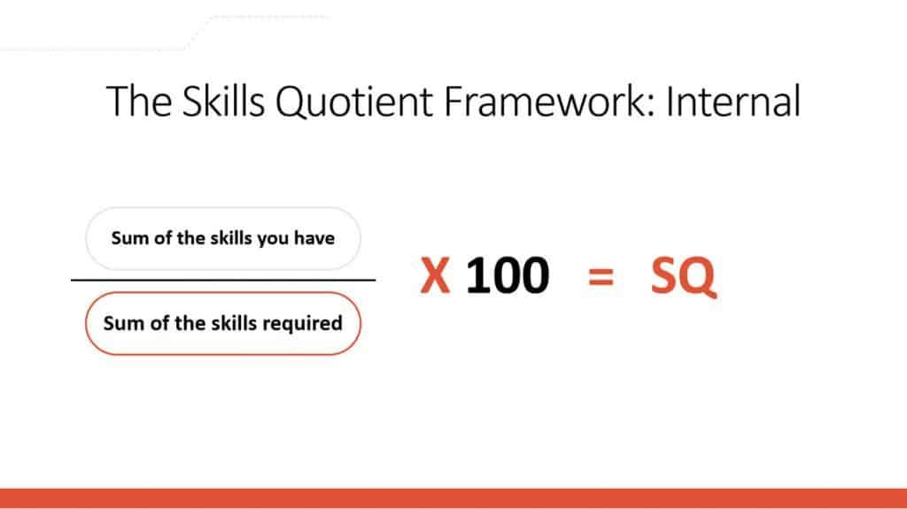 the skills quotient framework