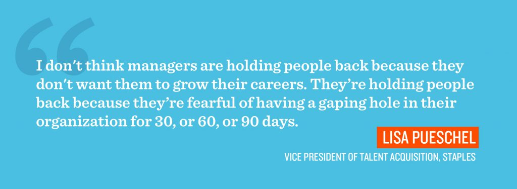 why managers hold employees back