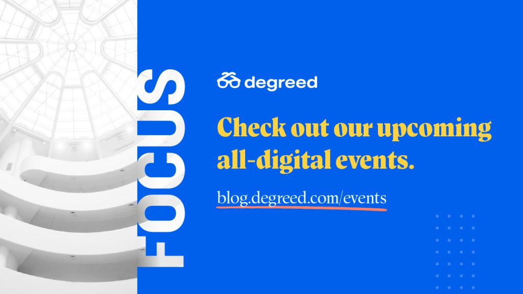 Check out our upcoming all-digital events.