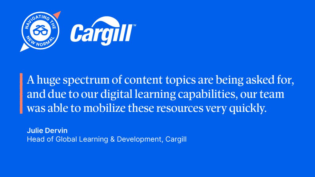 Advice from Cargill.