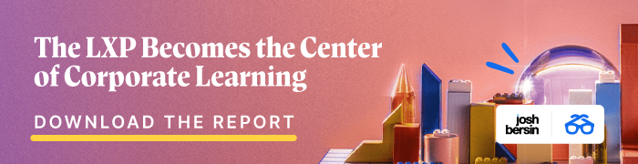 The LXP Becomes the Center of Corporate Learning